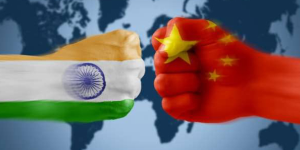 Image Representing the Battle Between India & China For Gold.