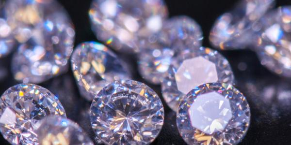 Closeup Shot of Beautiful Colored Crystal.